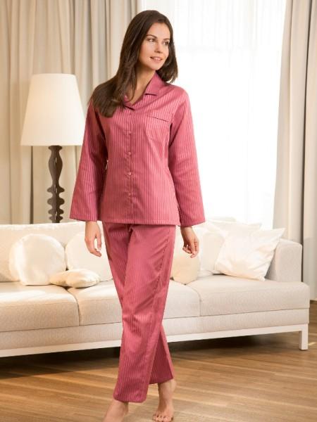 Damen Pyjama Helena Voile-Satin NOVILA