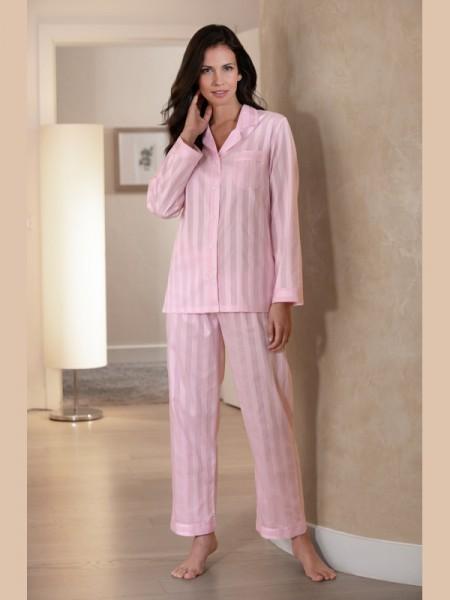 Damen Pyjama Céline exklusiver Voile Satin NOVILA