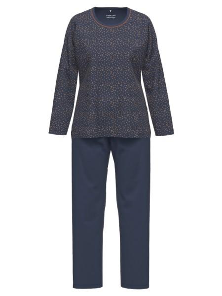 Damen Schlafanzug iris Punkte Baumwolle Modal AMMANN