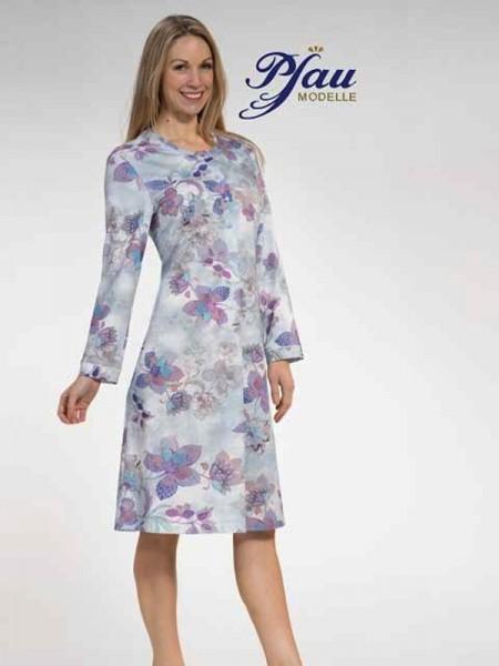 Damen Nachthemd Blätterdruck PFAU MODELLE