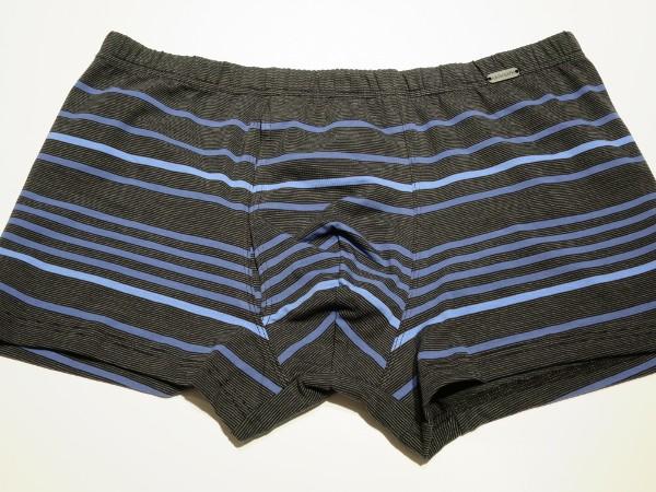 Retro-Short mit Eingriff schwarz blau AMMANN
