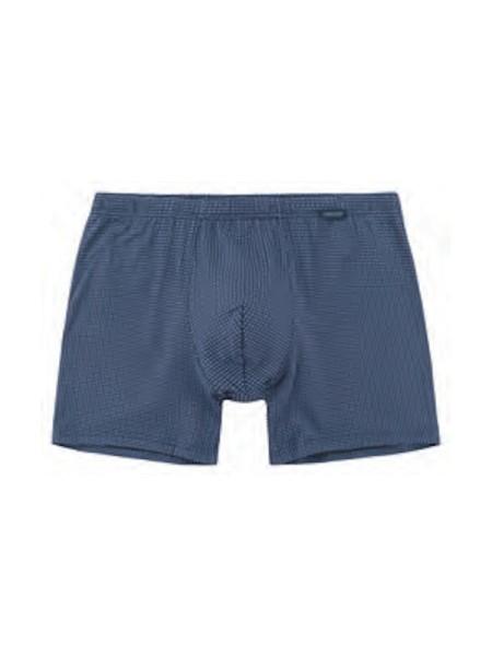 Long-Short blau Baumwolle Modal AMMANN
