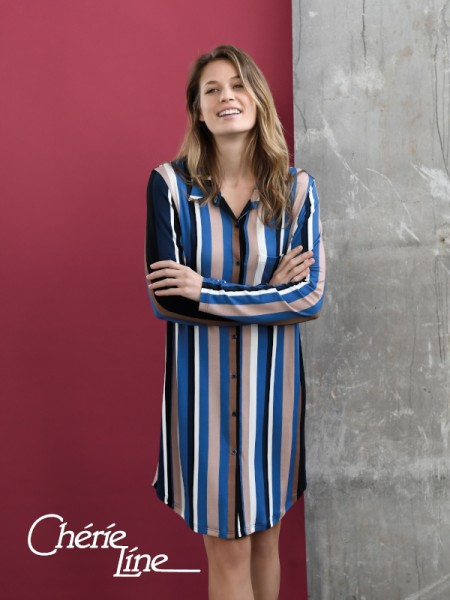 Damen Nachthemd Pyjamastil in Viscose Chérie Line by RINGELLA