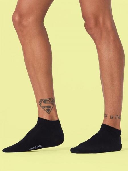 Sneakers 3er Pack- schwarz - weiß - grau