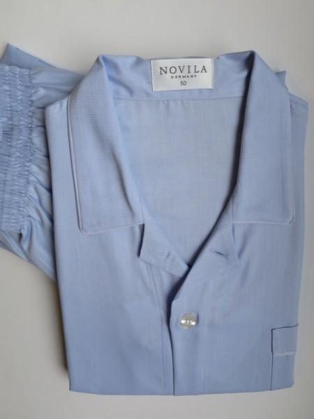 Herren Pyjama Patrick hellblau NOVILA