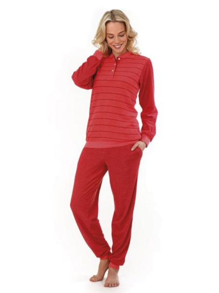 brand new e451c aa432 Schlafanzug Klima-Frottee aperol hajo