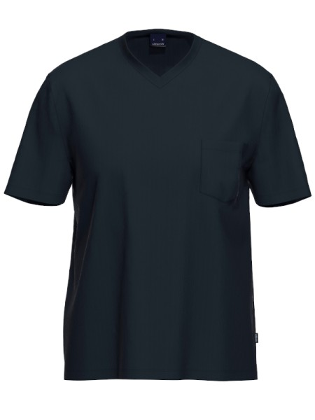 Herren T-Shirt 1/2 Arm Bio Baumwolle Mix & Match marine AMMANN