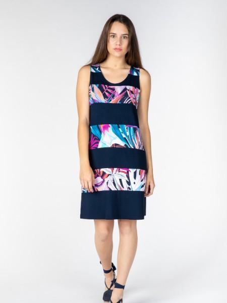 Leichtes Kleid mit Trägern ORCHIDEE - EGATEX