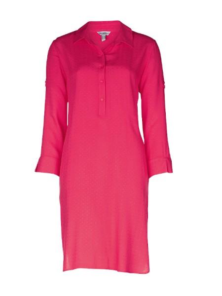Lässiges Sommerkleid JAMAICA hot pink Viscose TAUBERT