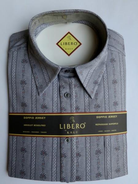 LIBERO CLASSIC Jerseyhemd silbergrau Edelweiß