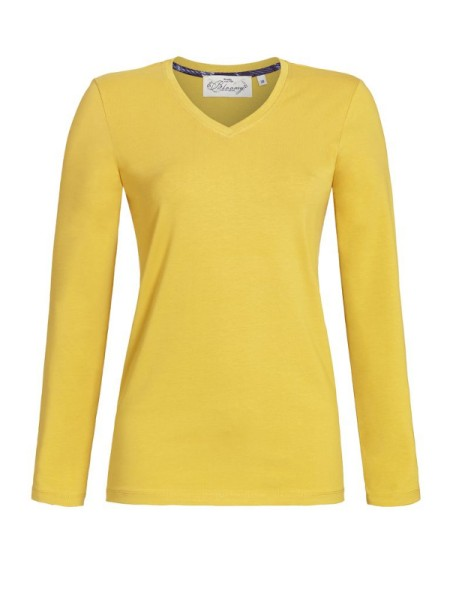 Bloomy Shirt honiggelb RINGELLA