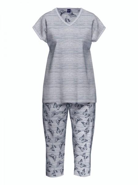 Damen Schlafanzug Baumwolle Modal BLUE VELVET AMMANN