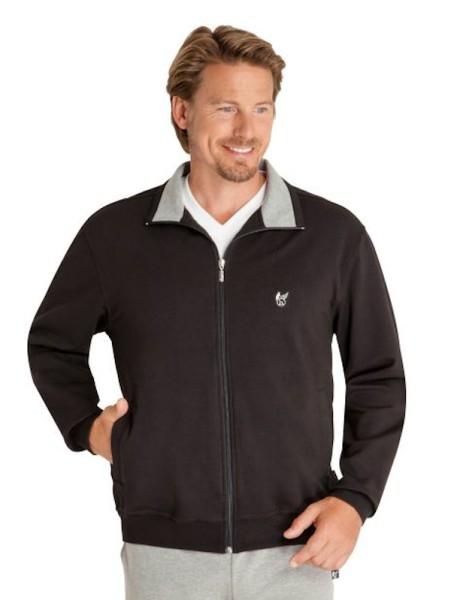 Herren Klima-Komfort Jacke für Freizeit schwarz hajo
