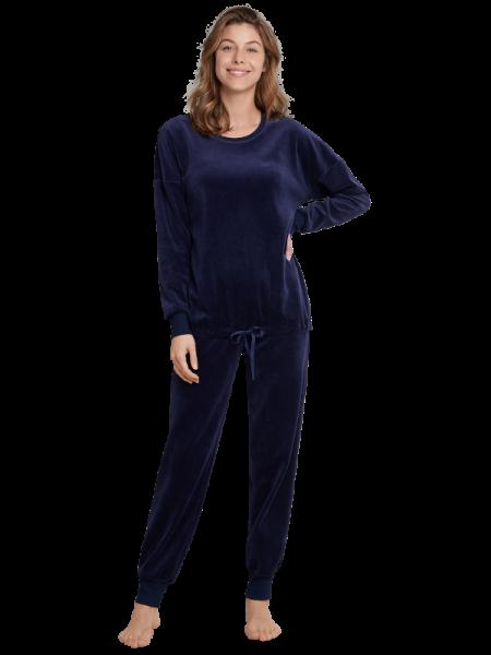 Damen Nickianzug dunkelblau Seidensticker