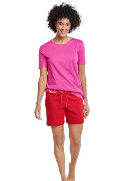 Damen Shorty pink rot - Seidensticker