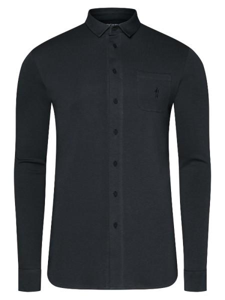 Jersey Hemd 100% Cotton schwarz JOCKEY