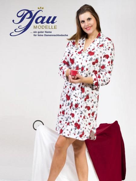 Nachthemd mit Rosen im Pyjamastil PFAU MODELLE