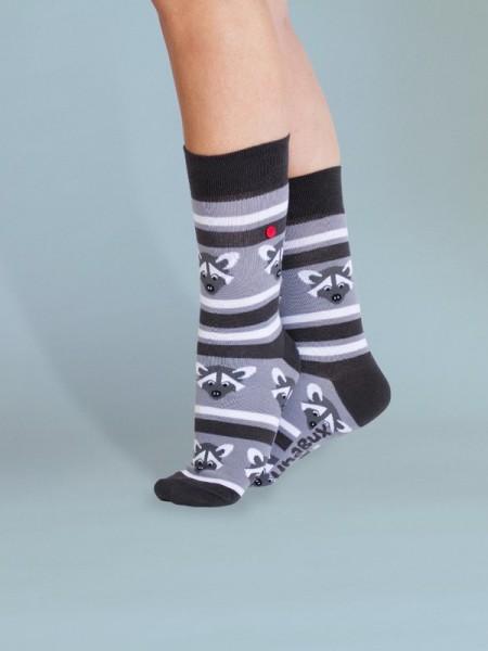 unabux Socken GREY RACOON