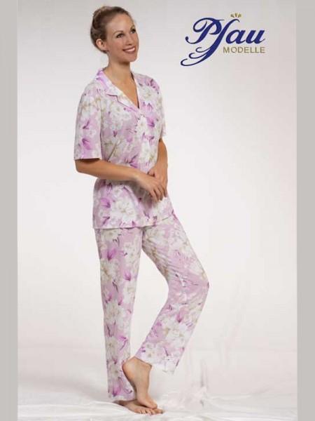 Pyjama flieder Blume PFAU MODELLE
