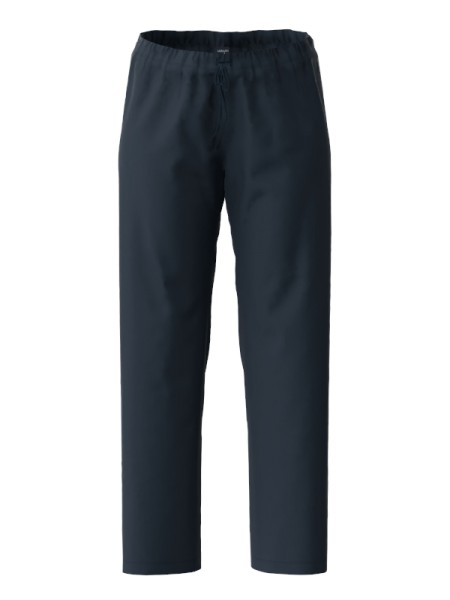 Damen Hose lang Bio Baumwolle marine AMMANN