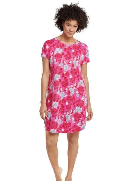Damen Bigshirt Baumwolle / Modal rot - Seidensticker