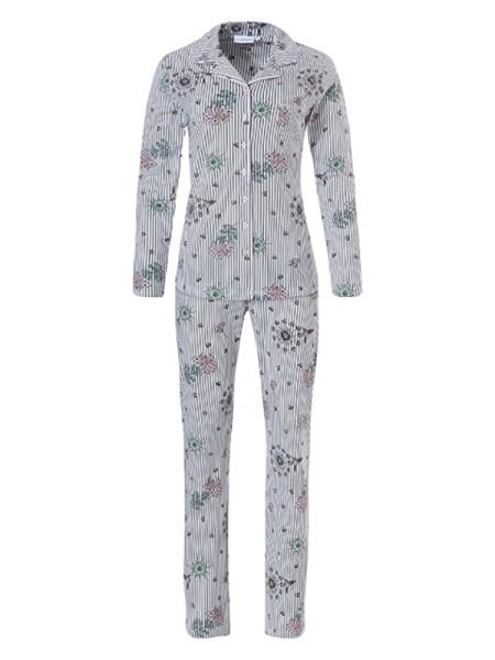 Pyjama in gemütlichem Baumwoll-Jersey pastunette