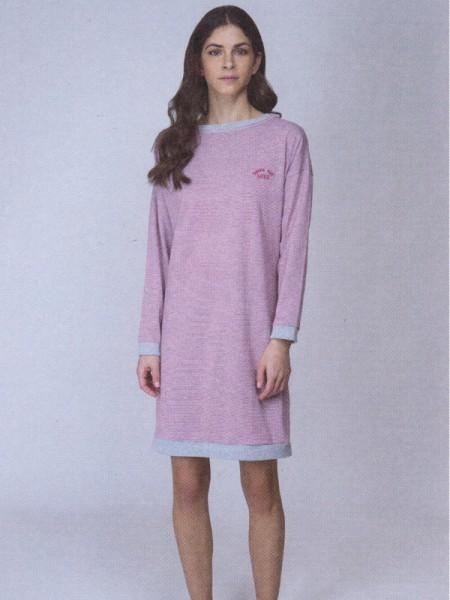 Damen Nachthemd Winter Cotton AMMANN