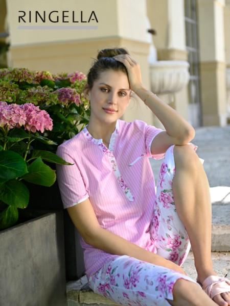 Romantischer Sommerschlafanzug RINGELLA