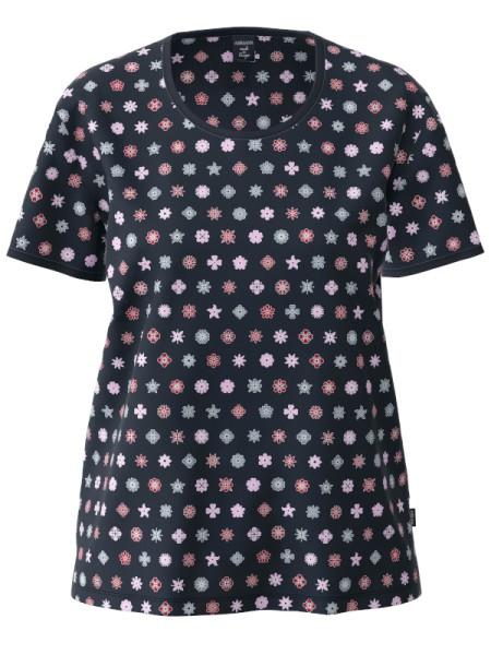 Damen T-Shirt Bio Baumwolle Sternblüten AMMANN