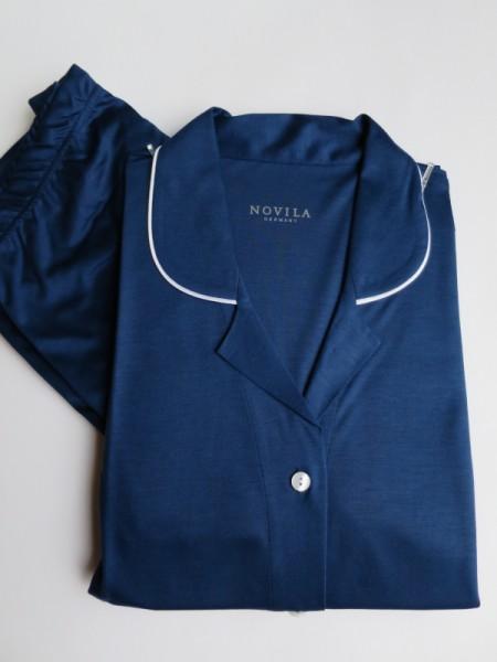 Damen Pyjama Agneta Modal Seide NOVILA