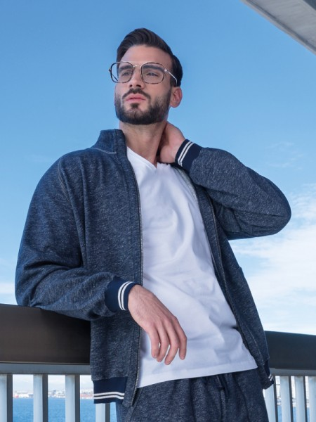 Sportlicher Jacke in 100% Baumwolle für die Freizeit AMMANN