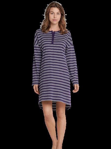Damen Nachthemd Baumwolle Brombeer Seidensticker