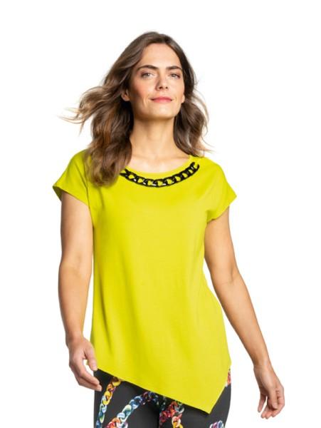 Shirt mit Kette anisgelb DORIS STREICH