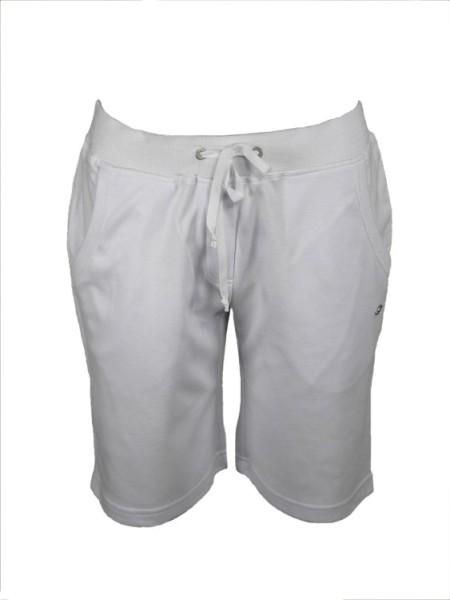 Damen Bermuda / Shorts STAY FRESH BASIC weiß hajo
