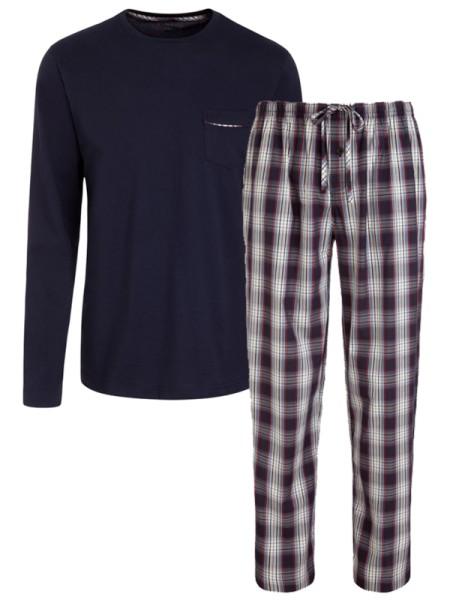 Schlafanzug Jersey / Webhose marine JOCKEY