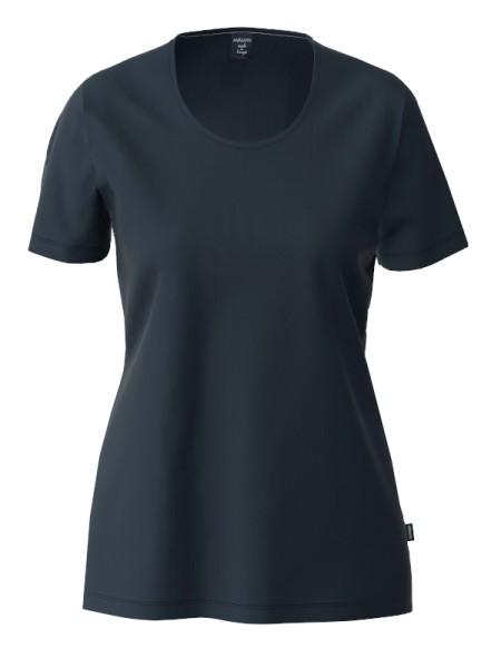 Damen T-Shirt Bio Baumwolle marine AMMANN