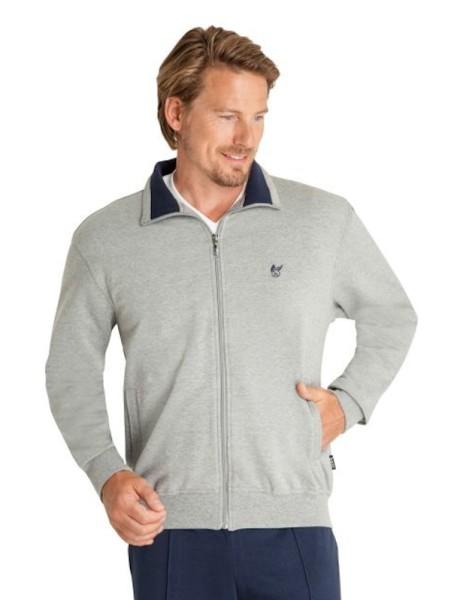 Herren Klima-Komfort Jacke für Freizeit grau hajo