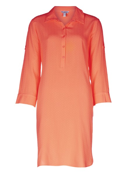 Sommerkleid JAMAICA orange Viscose TAUBERT