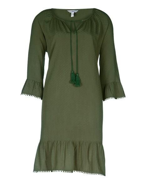 Sommerkleid JAMAICA oliv Viscose TAUBERT