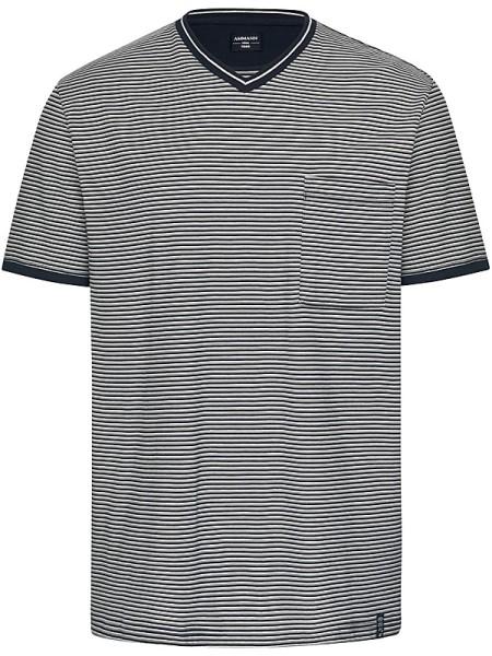 T-Shirt mit feinen Streifen Mix & Match AMMANN