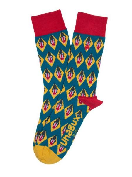 SALE! unabux Socken BABOON