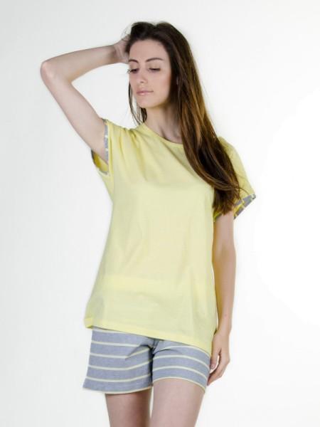 Shorty für Damen gelb/grau AMMANN