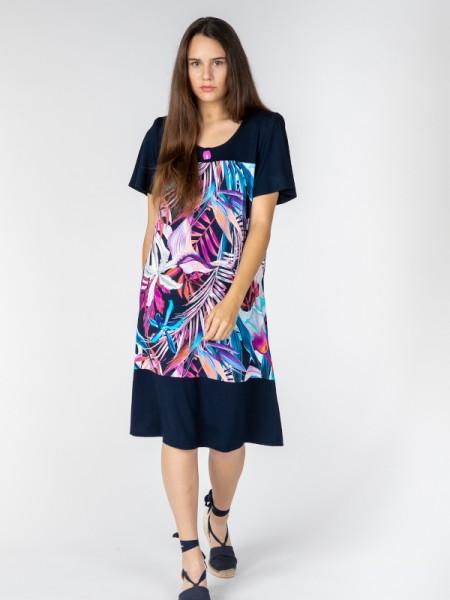 längeres Kleid für die Freizeit ORCHIDEE - EGATEX