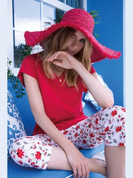 Damen Schlafanzug Extra LIGHT FOLK STYLE AMMANN