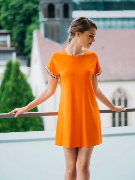 Strandshirt orange HUTSCHREUTHER