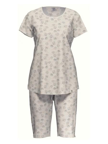 Damen Schlafanzug Baumwolle Modal PEACH BLUSH - AMMANN