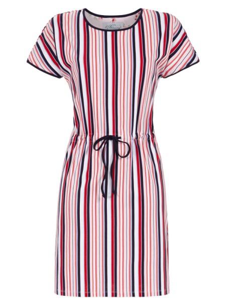 BLOOMY Badekleid Streifen in rot blau weiß RINGELLA