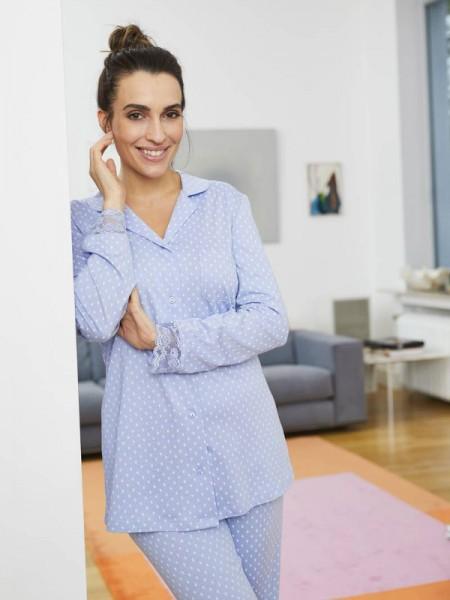 Jersey Pyjama für Damen RINGELLA