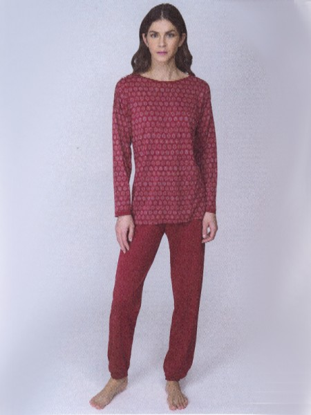 Damen Schlafanzug Baumwolle/Modal vino AMMANN