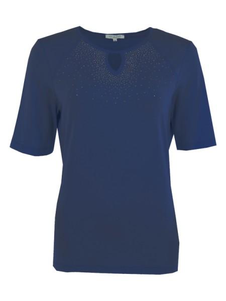 Damen T-Shirt dunkelblau HAJO